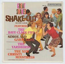 "Great Shakes 1967 CSP 33rpm 7"" EP Yardbirds Dave Clark Five Simon and Garfunkel"