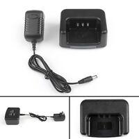 1Set Desktop Battery Charger For TYT MD-380 Two Way Radio Plug  UA