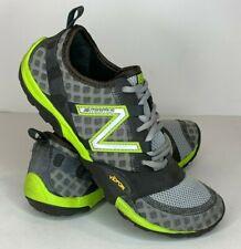 New Balance Minimus Mens Sz 7.5 D MT10SV Gray Green Trail Running Shoes 88-0612