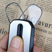 Key-Chain Mini Ultra Thin Nose Clip Optics Presbyopic Reading Glasses