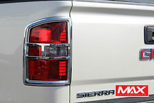 TLGM102 - 2015-2017 GMC Sierra 2500 3500 HD Taillight Chrome Trim Covers