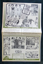 "LORENA VELAZQUEZ ""LAS HIJAS DE ELENA"" MARIA DUVAL PRESS SHEET COLOMBIA 1963"