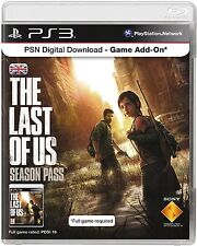 The Last of Us Season Pass/UK Only  Sony Playstation 3*FULL GAME REQUIRED*