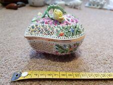 Bonbonnière en porcelaine de Herend