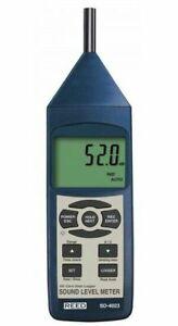 REED SD-4023 Professional Sound DB Meter Datalogger 30-130dB Type 2 ±1.4 dB