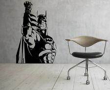 Batman Wall Decals Dark Knight Vinyl Sticker Comics Art Removable Decor (11jbat)