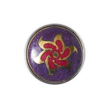 Noosa Amsterdam Chunk ARINNA Ladies Jewellery Push Button Red Purple Link crn-292-01