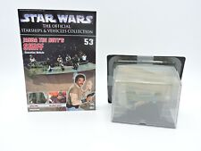 Jabba Hutt Skiff 53 STAR WARS Official Starships & Vehicle Collection DeAgostini