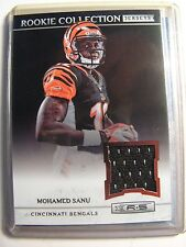 Mohamed Sanu Bengals 2012 R&S Rookie Collection Jersey Card Falcons NFL FOOTBALL