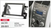 CARAV 09-001 2-DIN Marco Adaptador de radio SUZUKI Grand Vitara; Escudo 2005