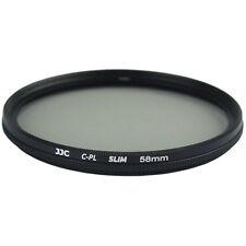 Ultra-Slim CPL Filtre Polarisant Circulaire pour Photo Objectif Diamètre 58mm