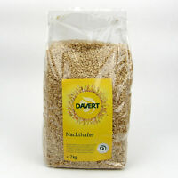 (3,50/kg) Davert Nackthafer vegan bio 2000 g 2 kg