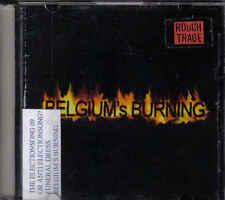 Rough Trade-Belgiums Burning Promo cd single