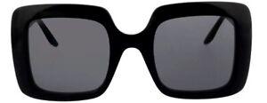Gucci Damen Sonnenbrille GG0896S 001 52mm schwarz quadratisch 23_64