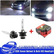 AL Bosch Litronic Xenon Headlight Igniter HID Ballast 1 307 329 076 + D2S Bulbs