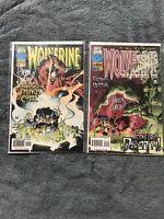 Wolverine 101 & 111 Both Signed By Adam Kubert Marvel Comics