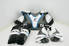 Champro Lrx7 Lacrosse Pad Sets Secure Fit W Maximizing Comort Small Grey