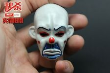NEW 1/6 THE JOKER BANK ROBBER VERSION 2.0 MASK HEAD SCULPT Eyes can move