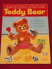 TEDDY BEAR AUGUST 1967 CHILDREN'S BRITISH COMIC Mostly B&W  50+ YEARS