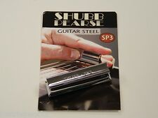Shubb Pearse SP3 Guitar Steel Slide Bluegrass Dobro New Free Shipping To U.S.A.