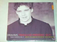 CD / FRANCOIS FREDERIC GUY / BRAHMS PIANO CONCERTO 2 / NEUF SOUS CELLO