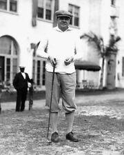 Golfer New York Yankees BABE RUTH Glossy 8x10 Photo Pose Golf Print Poster