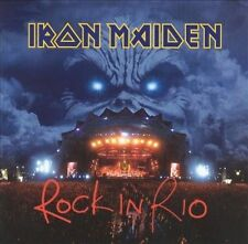 "Iron Maiden ""Rock in Rio"" CD Mar-2002 2 Discs Columbia Sealed Promo M"