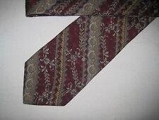 Mens Red Silk Tie Necktie Bill Blass ~ FREE US SHIP (4682)