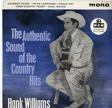"Hank Williams Authentic Sound Of The Country Hits 7"" Ep"