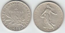 Gertbrolen 2 Francs Argent Type Semeuse 1908 Exemplaire N° 3