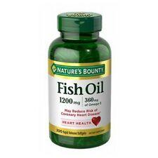 Fish Oil 6 X (200 Softgels + 200 Softgels) 1200 mg