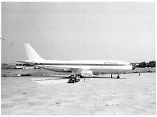 Lufthansa Airlines Boeing Airplane F-WUAD B & W photo