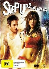 STEP UP 2 The STREETS Dance Music Inspiring Street Dancing Film DVD Region 2 & 4