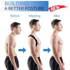 Posture Corrector BodyWellness Back Shoulder Lumbar Support Brace Belt Unisex P6