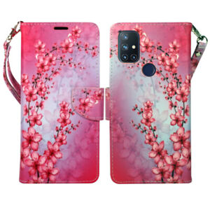 For OnePlus Nord N10 5G, PU Leather Wallet Phone Case Cover Flip Stand Strap New