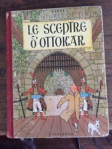 TINTIN LE SCEPTRE D'OTTOKAR 1947