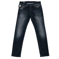 JACK & JONES Homme 'S Glenn Fox Slim Fit Taille Basse Gris Jean Taille W31 L30