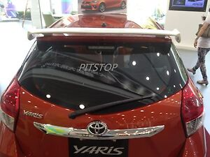 Toyota YARIS Hatchback 2014-on ABS Rear roof spoiler SPORTS style-Painted