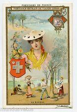Chromo. Liebig . S492 (1896) . PROVINCES DE FRANCE . La SAVOIE
