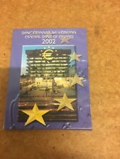 Central Bank Of Ireland 2002 - 1st Euro 8 Coin Set - Free UK P& P