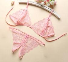 Sexy-Women Lace Lingerie Nightwear Underwear G-string Babydoll Sleepwear Dress
