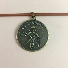 Vintage Brass Charm Pendant for Travelers Notebook Midori Accessory Necklace
