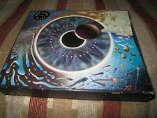 PINK FLOYD PULSE LIVE USED 1995 DAVID GILMOUR TWO DISC CARD BOX UK CD ALBUM.