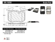 Disc Brake Pad Set-Sedan, F30 Front Stoptech 309.16090