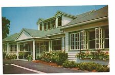 Vintage Postcard North Plymouth MA Mass Leland's Restaurant Route 3A