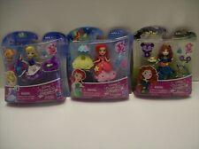 Disney Princess Little Kingdom Ariel, Merida and Cinderella Quantity 3 - New