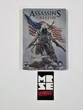 Assassins Creed 3 Limited Edition G1 Size Steelbook - Case ONLY No Game New