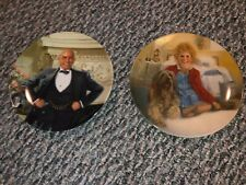 """Knowles """"Annie and Sandy� Collector Plates1982 Limited Edition- Set of 2"""