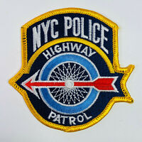 New York City Police Highway Patrol NYPD Patch