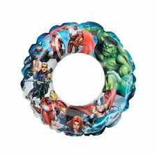Childrens Kids Avengers Swimming Ring Inflatable Summer Holiday Fun